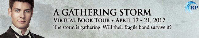 Joanna Chambers - A Gathering Storm Tour Banner