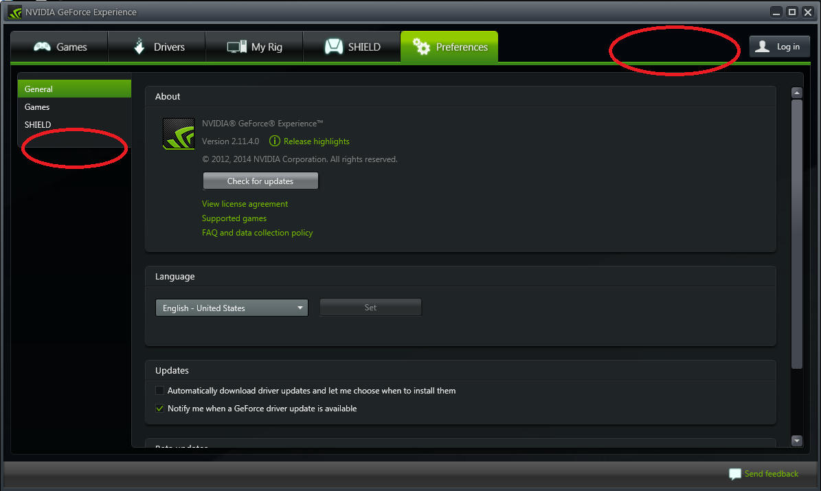 Can't access Shadowplay on GeForce Experience 2 | Tom's Hardware Forum