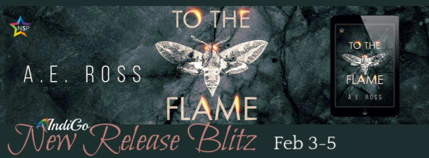 A.E. Ross - To the Flame RB Banner