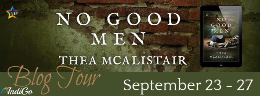 Thea McAlistair - No Good Men Tour Banner