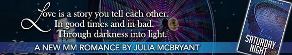 Julia McBryant - Neon Saturday Night Banner 2