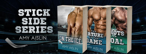 Amy Aislin - Stick Side series banner s