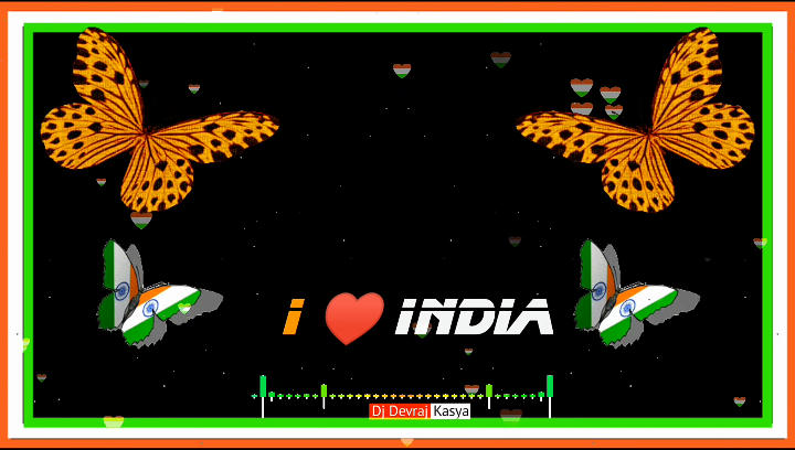 I Love India 15 August AveePlayer Template Download