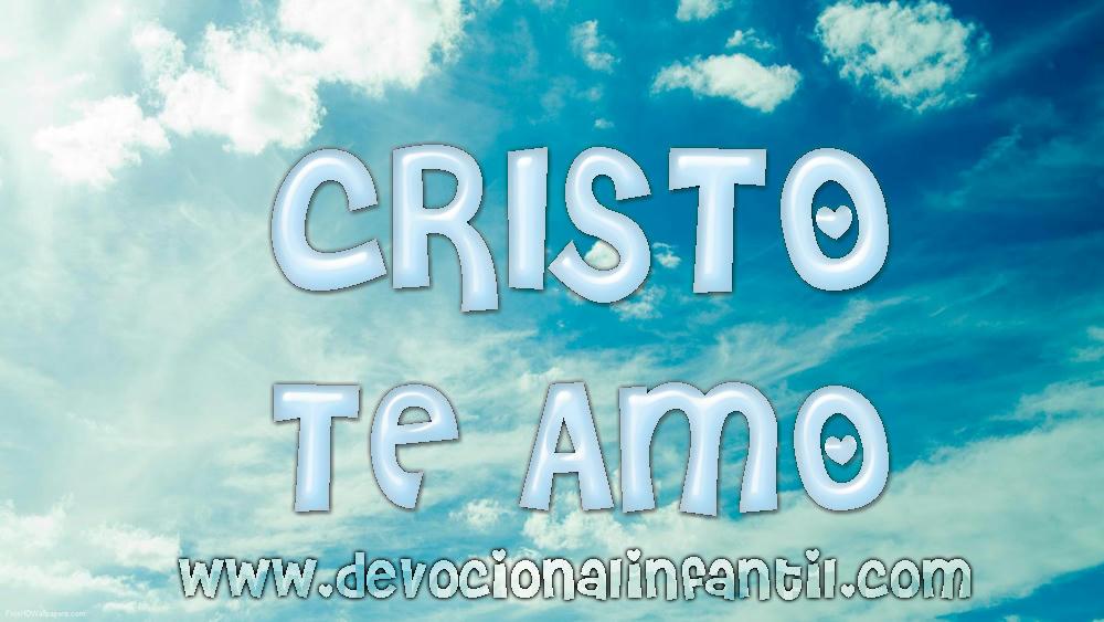 Cristo te amo – Tarjeta