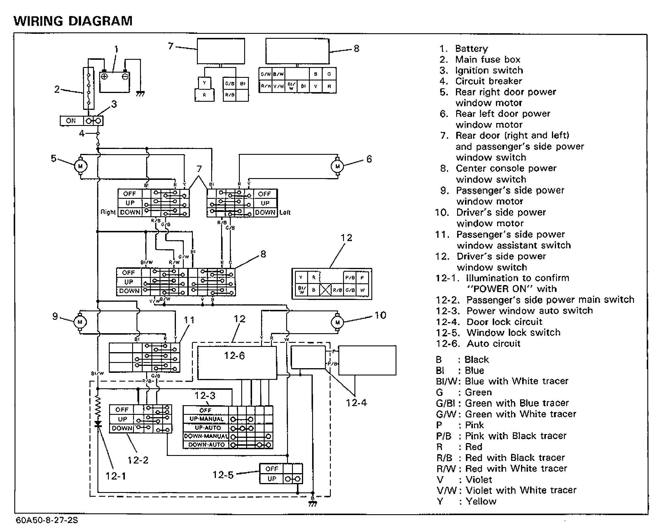 93 Geo Prizm Fuse Diagram