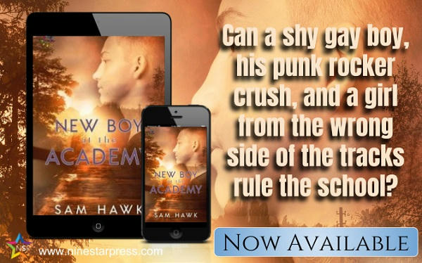 Sam Hawk - New Boy at the Academy Now Available