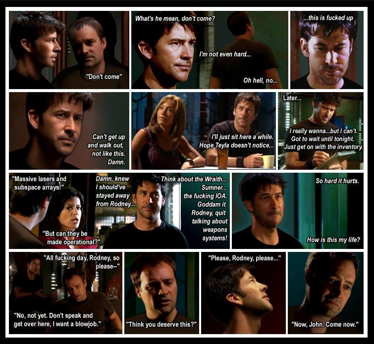 Fan-comic using screenshots, telling the story of the fic.