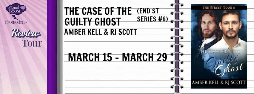 R.J. Scott & Amber Kell - The Case Of The Guilty Ghost RT Banner