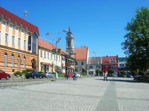 Plaza-de-Uherský-Brod