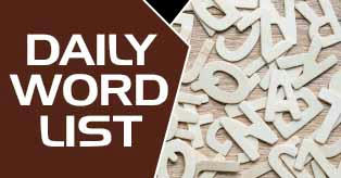 Daily Word List
