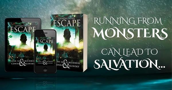 Sean Ian O'Meidhir and Connal Braginsky - Crossing Nuwa Escape Banner 1