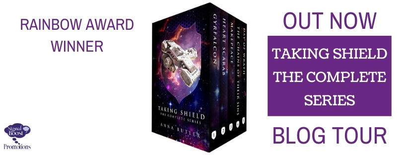 Anna Butler - Taking Shield Boxset BTBANNER-9