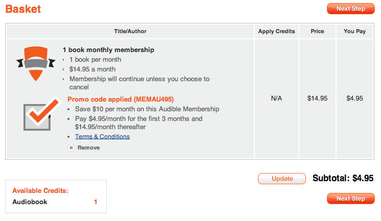 audible how to cancel subscription