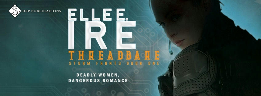 Elle E. Ire - Threadbare Banner