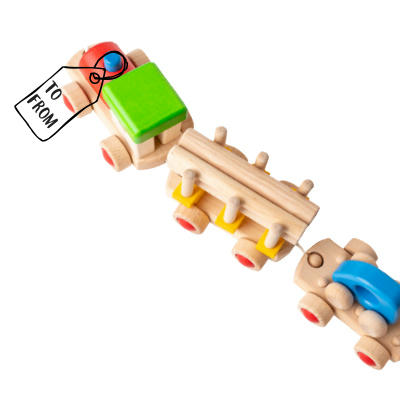 Children's Wooden Train
