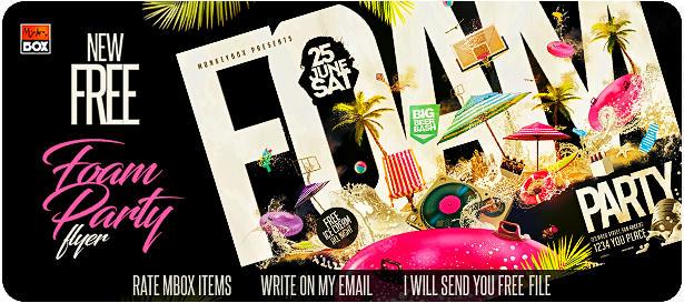 DJ Tour Dates Flyer Template - 5