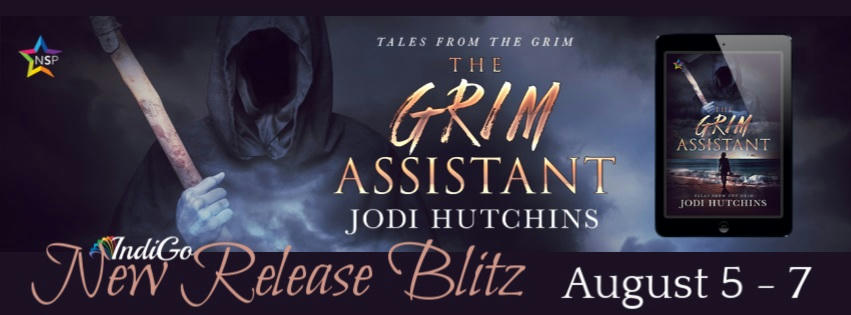 Jodi Hutchins - The Grim Assistant RB Banner