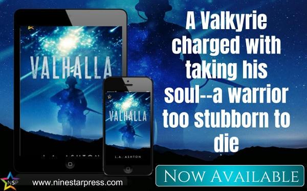 L.A. Ashton - Valhalla Now Available