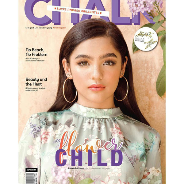 Chalk Magazine's Cover Girl For The April-May Issue