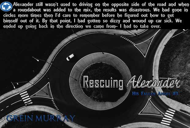 Grein Murray - Rescuing Alexander Teaser 3