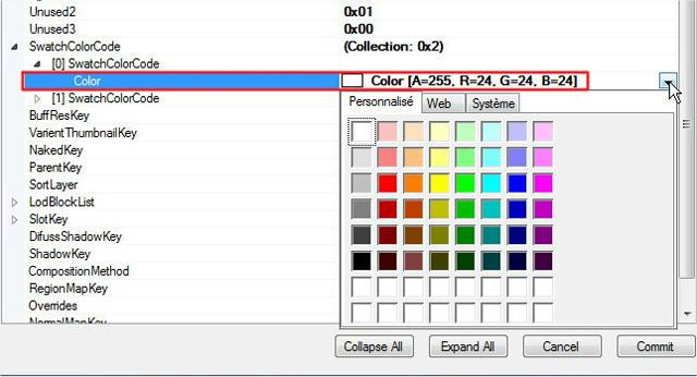 [Intermediaire]  S4PE - Modifier les informations de type catégories (flags) et couleurs (swatchcolor) d'un package Wm5mad848tqt6ti6g