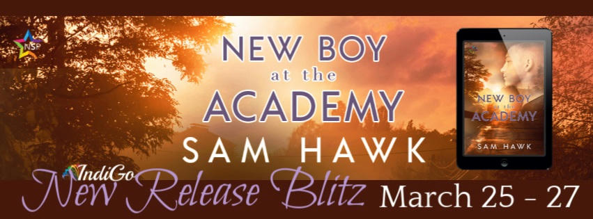 Sam Hawk - New Boy at the Academy RB Banner