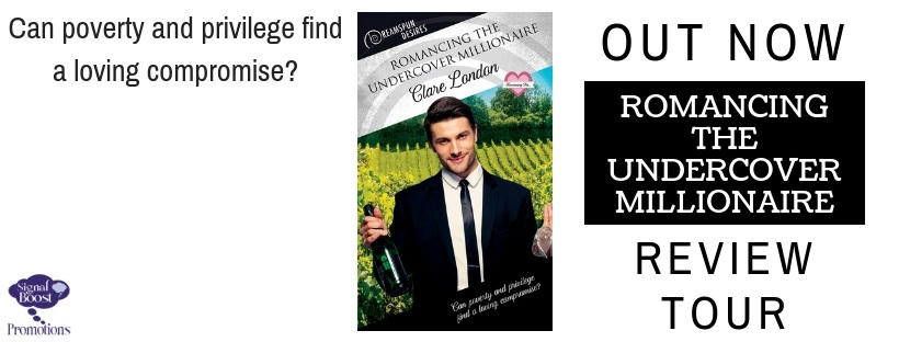 Clare London - Romancing The Undercover Millionaire RTBannerCL