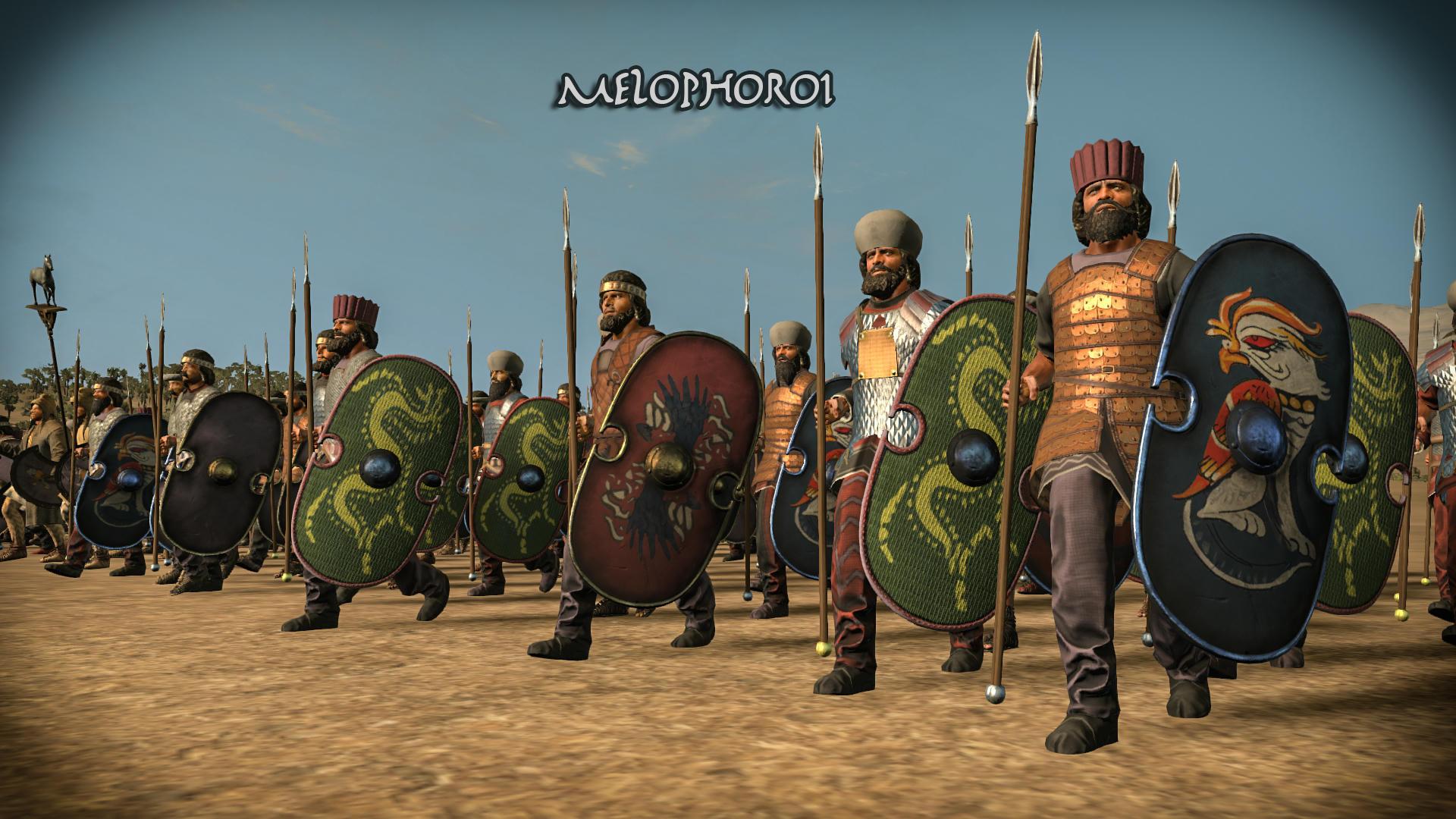 [Preview] Atropatkan (Atropatene) Ancient Persian Army