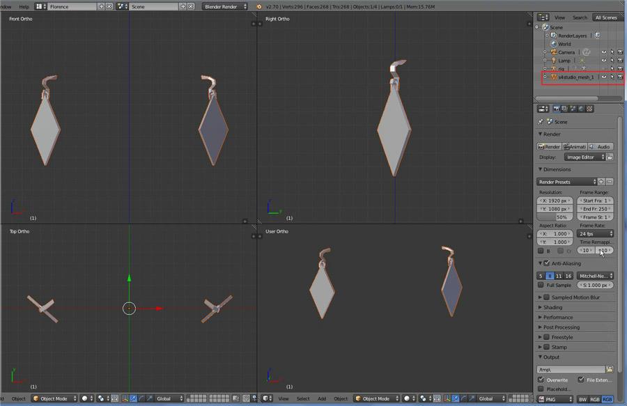 [Intermediaire] [Blender 2.6 et 2.7] Création de boucles d'oreilles D7m9ke35qcpee496g