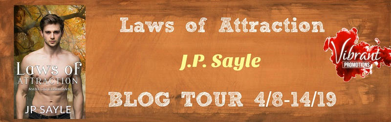 J.P. Sayle - Laws of Attraction BT Banner
