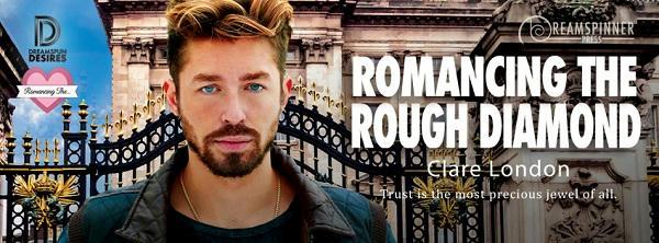 Clare London - Romancing The Rough Diamond Banner