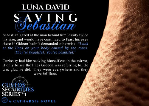 Luna David - Saving Sebastian Quote 1