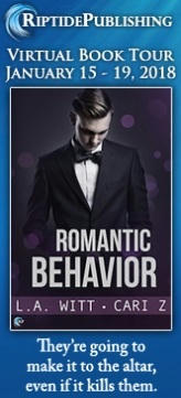 L.A. Witt & Cari Z. - Romantic Behavior TourBadges