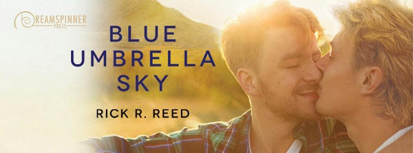 Rick R. Reed - Blue Umbrella Sky Banner