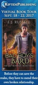 E.J. Russell - Bad Boy's Bard TourBadge