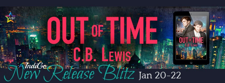 C.B. Lewis - Out of Time RB Banner