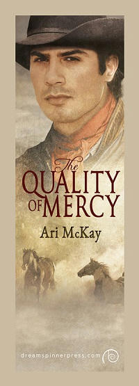 Ari McKay - The Quality of Mercy Bookmark
