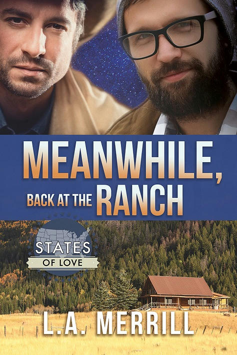 L.A. Merrill - Meanwhile, Back At The Ranch Cover