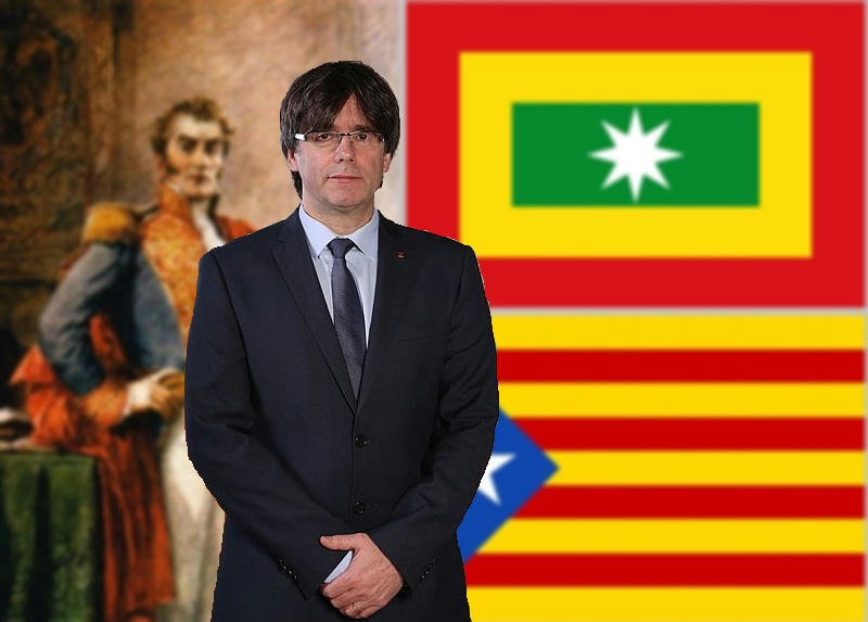Indignación catalana tras arresto en Alemania de Carles Puigdemont