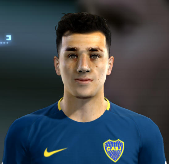Gonzalo Maroni Face For Pro Evolution Soccer PES 2013 Made