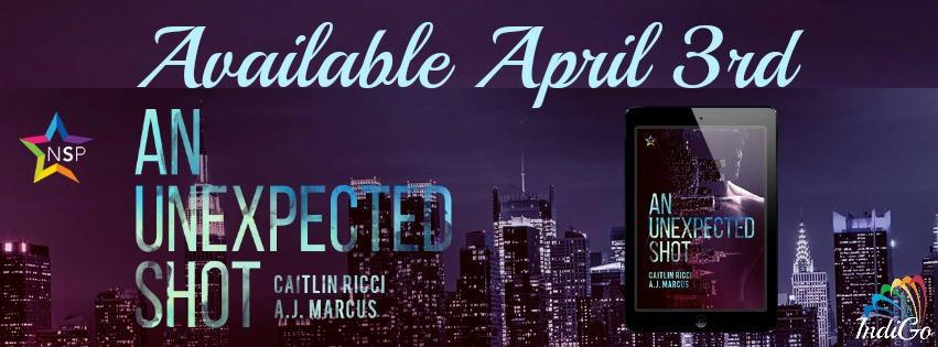 Caitlin Ricci & A.J. Marcus - Unexpected Shot RB Banner