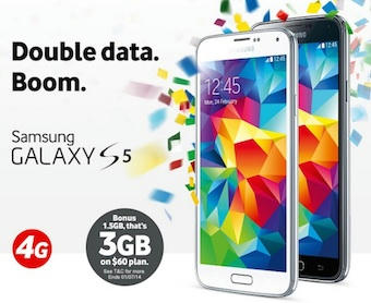 Does Vodafones Double Data Promo Make Getting The Galaxy S5 On Contract Worthwhile?