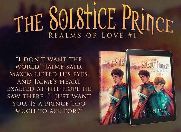 S.J. Himes - Solstice Prince teaser 1