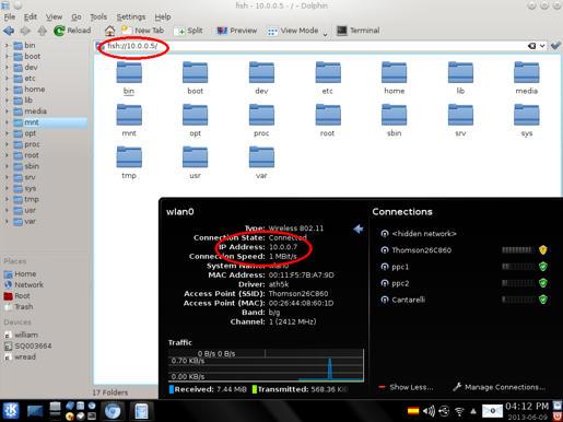 solved ] access a SAMBA network folder - Porteus