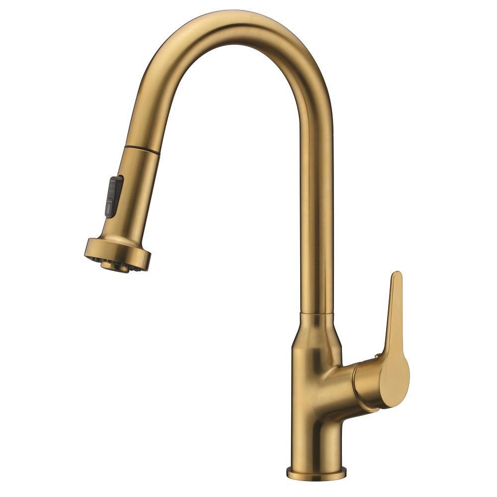 AB50 3776MAG Kitchen Faucet, Matte Gold