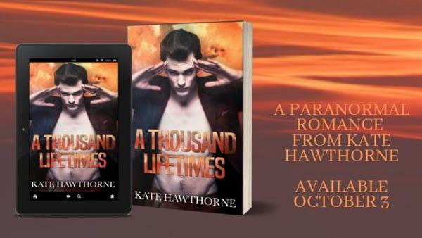 Kate Hawthorne - A Thousand Lifetimes Banner