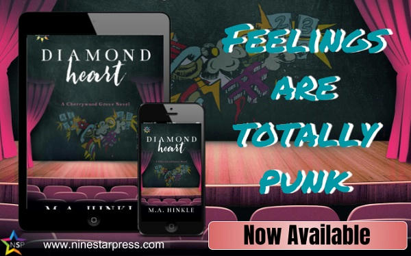 M.A. Hinkle - Diamond Heart Now Available