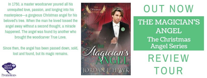 Jordan L Hawk - The Magician's Angel RTBanner