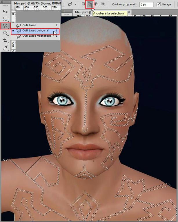 [Apprenti] Effet futuriste - Créer des lignes sur la peau Jcpqsr4uv0711cc6g