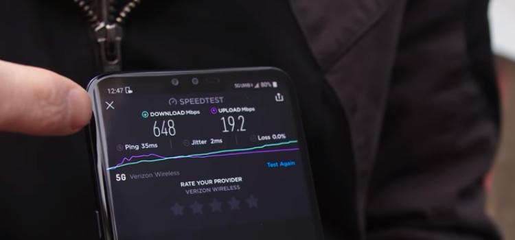 Kecepatan Download Jaringan 5G